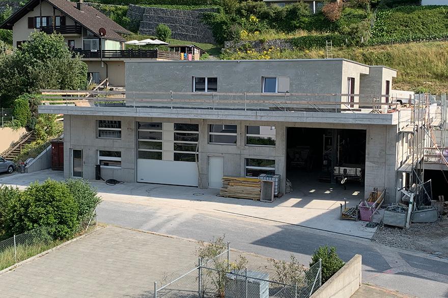 Neubau Bauumternehmug Gebr. Schmid AG Schübelbach