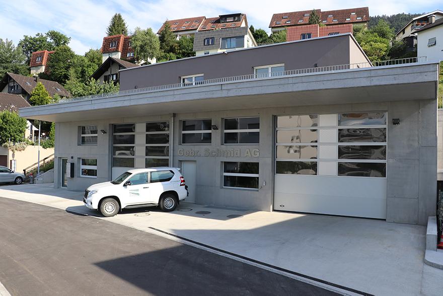 Bürogebäude Bauumternehmug Gebr. Schmid AG Schübelbach