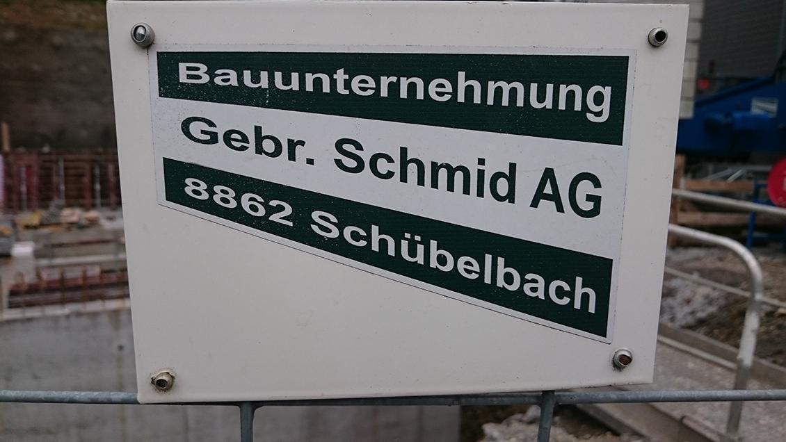 Bauumternehmug Gebr. Schmid AG Schübelbach